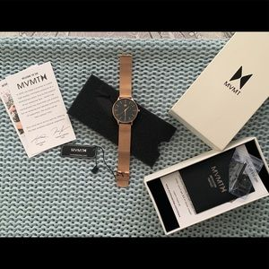 MVMT rose gold watch- NEVER OPENED OR WORN
